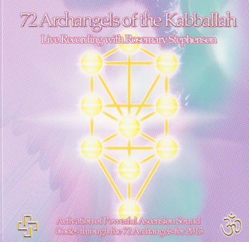 72 Archangels of the Kabballah CD by Rosemary Stephenson